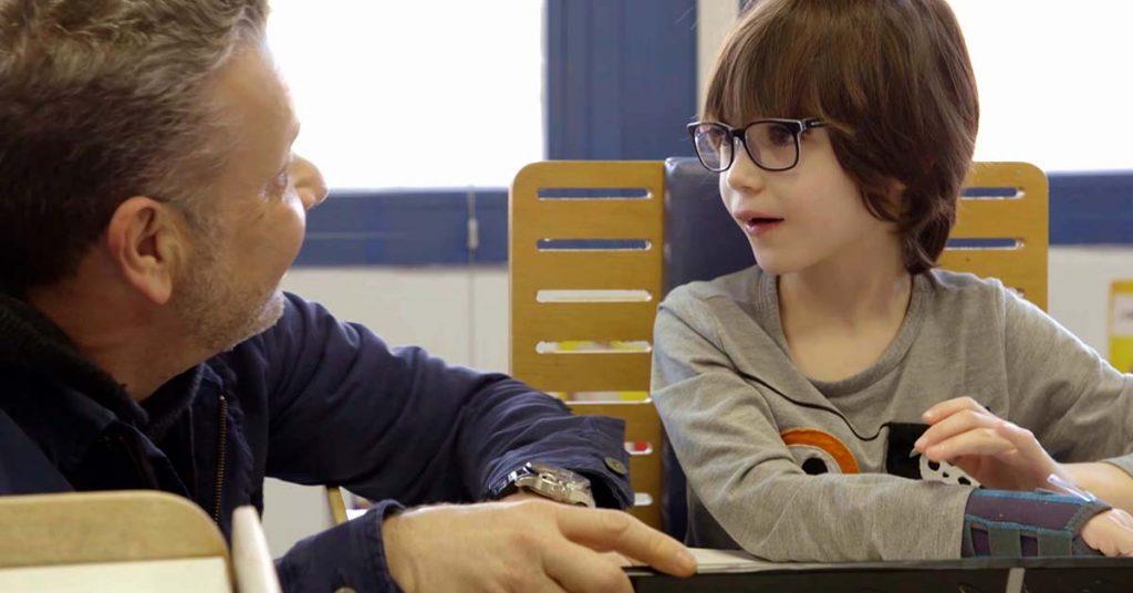 Educación Inclusiva, el placer de enseñar a niños con discapacidad